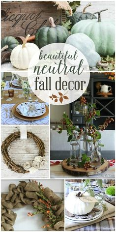 Beautiful neutral fall interior decor inspiration from thehappyhousie.com |   @happyhousie has all we need this fall season!