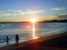 Praia de Meaipe .Guarapari ES
