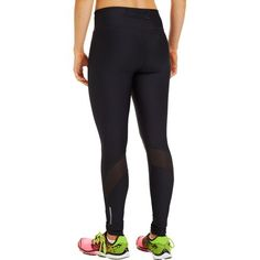 The Under Armour® Women's Fly By Legging is made of nylon and elastane and features a compression fit.