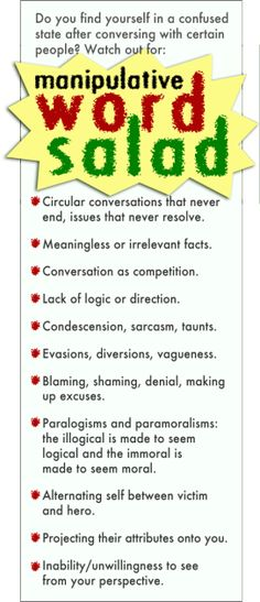 Traits of an abusive relationship