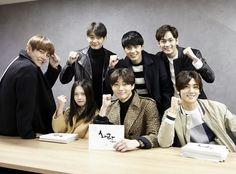 "160405 Minho's drama ""Hwarang"" first script-reading #Shinee #Minho"