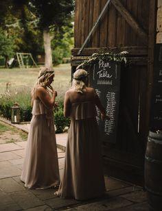 Rustic Wedding in French Wine Country: Karen + Steve Farm Wedding, Wedding Bells, Rustic Wedding, Wedding Cake, Wedding Signage, Wedding Reception, Reception Ideas, Steve Green, Modern Vintage Weddings