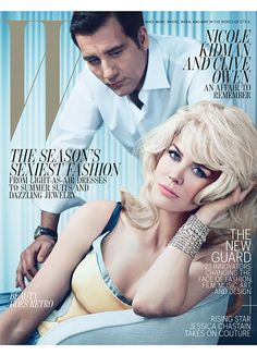 Nicole Kidman and Clive Owen, May 2012 cover. Photo: Emma Summerton.