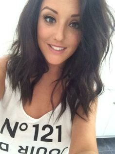 We adore Charlotte Crosby's new hair! Bravo Charlotte for taking the plunge and chopping that hair off!
