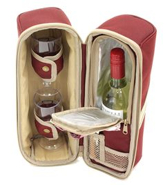 Deluxe Wine Cooler, Wine Pouch, Wine Bag, Cool Bag, Wine Gift Set