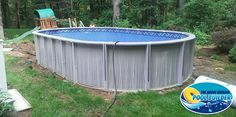 15x26 Trevi above ground pool an all resin constructed pool. Fully installed 15'x25' is under $5,000.