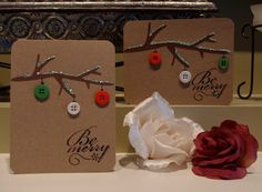 "Creative ""Try""als: Be Merry Christmas Card"