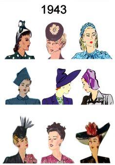 1943 hats