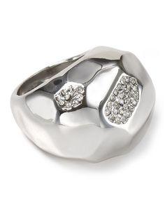 Abs by Allen Schwartz High Shine Domed Ring