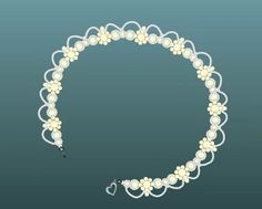 sweet necklace tutorial http://www.diylessons.org/WhiteladyNecklace-,name,101456,item_id,2,ad_type,ad_details