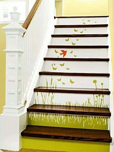 Stair decor!