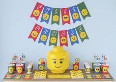 Postreadicción: Galletas decoradas, cupcakes y cakepops: Fiesta Lego                                                                                                                                                                                 Más