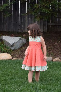 A personal favorite from my Etsy shop https://www.etsy.com/listing/268827866/spring-dress