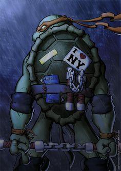 TMNT - Michelangelo - AsylumComics.deviantart.com