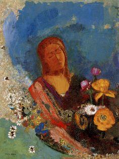 Odilon Redon, The Cyclops, ca. 1898-1914   Painting. Odilon Redon ...