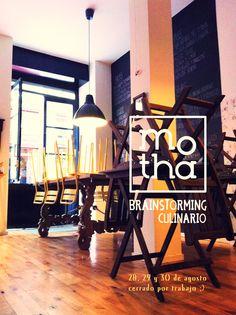 MOTHA MADRID.  C/ Santa María 39  http://www.motha.es/  Café delicatessen