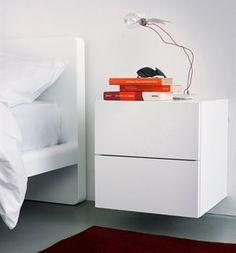 Visit the post for more. Bedside Lockers, Bedside Shelf, Ikea Furniture, Furniture Design, Interior Inspiration, Room Inspiration, Home Bedroom, Bedroom Decor, Grace Home