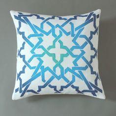 Blue Cordoba Pillow
