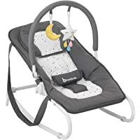 Ingenuity, Transat avec Vibrations et Musique - Morrison: Amazon.fr: Bébés & Puériculture Baby Rocker, Baby Chair, Baby Bouncer, Baby Bjorn, Fisher Price, How To Fall Asleep, Things That Bounce, Baby Car Seats, Baby Strollers