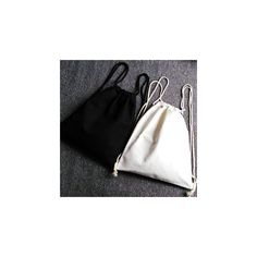 Plain Canvas Drawstring Bag (£29) ❤ liked on Polyvore featuring bags, handbags, tote bags, accessories, canvas handbags, canvas purse, canvas tote bags, canvas tote and drawstring bag