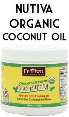 Nutiva Extra Virgin Organic Coconut Oil 2-pk: $14.23 + FREE Shipping! {+ 59 Creative Uses for Coconut Oil!}