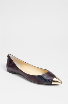 VC Signature Carrie Flat - Gorgeous - the picture does not do these shoes justice! #commandress