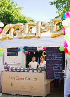 crepe stand field day london 2015 victoria park festival