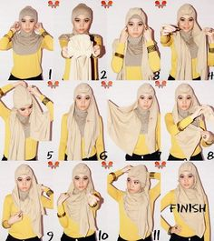 4 Amazing Hijab Tutorials  SPECIAL PROMO 12