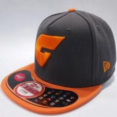GIANTS New Era 5950 2 Tone Charcoal Cap - Greater Western Sydney Giants Shop 5684244ff