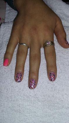Animal print multicolor combinado!!♡ Animal, Deco, Nails, Beauty, Finger Nails, Ongles, Decor, Animals, Deko