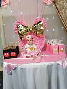 Cumpleano Diana T Fiesta Minnie Mouse Party