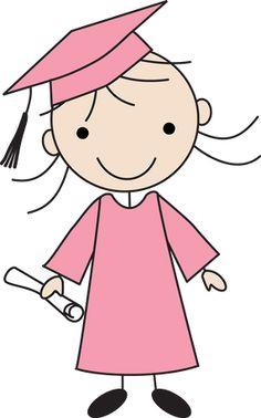 Little grads - Minus Doodle Drawings, Cartoon Drawings, Doodle Art, Easy Drawings, Drawing For Kids, Art For Kids, Stick Figure Drawing, Stick Figures, Whimsical Art
