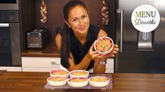 Śliwki zapiekane pod chrupiącą kruszonką. Przepis na szybki i łatwy deser ze śliwkami. MENU Dorotki - YouTube