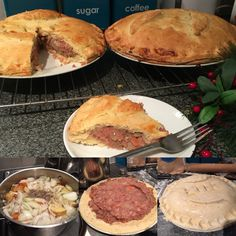 Beef & Potato 'Plate Pies' - A British Northern Tradition. Potato...