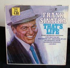 Frank Sinatra That's Life Lp Near Mint | Vintage LPs | Lexington, Kentucky 40504 | AudiogoN - The High-end Audio Community