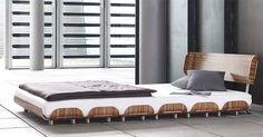 Tiefschlaf zebra wood bed from Stadtnomaden 1