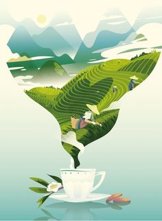 New Ideas For Graphic Landscape Illustration Poster
