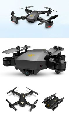 Quad copter that looks like the DJI Mavic. Comes with similar foldable arms and WiFi support.