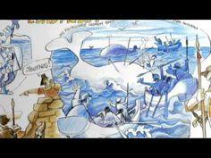 Ruta Histórica del Puerto-La historia de Ribadesella a través de los ojos de Antonio Mingote