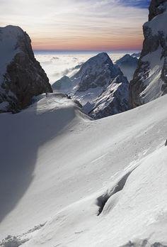 Up! Julian Alps, Friuli, Italy.