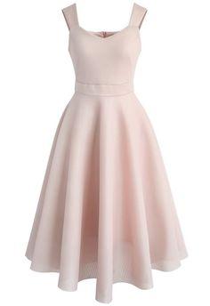 Impressive Cami Dress in Pink - New Arrivals - Retro, Indie and Unique Fashion