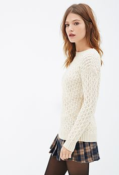 Purl Knit Sweater | FOREVER21 - 2000081791
