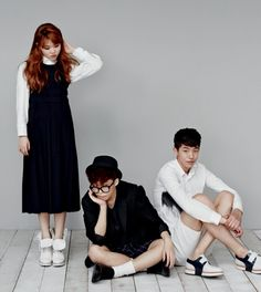 (AKMU) Akdong Musician for High Cut Magazine |128 2014.06.24~07.07   (Lee Haeun, Nam Juhyuck, Lee Soohyun, Lee Chanhyuk)