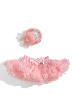 PLH Bows & Laces Tutu & Headband Set (Infant) available at #Nordstrom