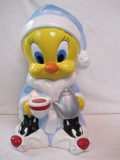 Warner Brothers Tweety Bird Cookie Jar | eBay