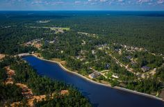 Woodtrace aerial