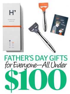 40 Great Father's Day Gifts--All Under $100