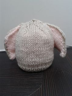 Bunny Hat 4 ready or made to order. £10.00