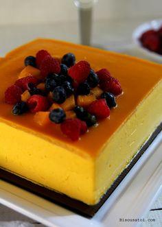 Bisous À Toi: Mango Mousse Cake