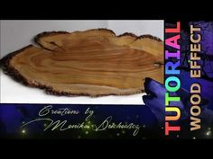 """Free TUTORIAL wood effect. You can buy easier version """"step by step"""" on my ETSY store here: https://www.etsy.com/shop/ArtisticVariations84?ref=hdr This is WO..."""